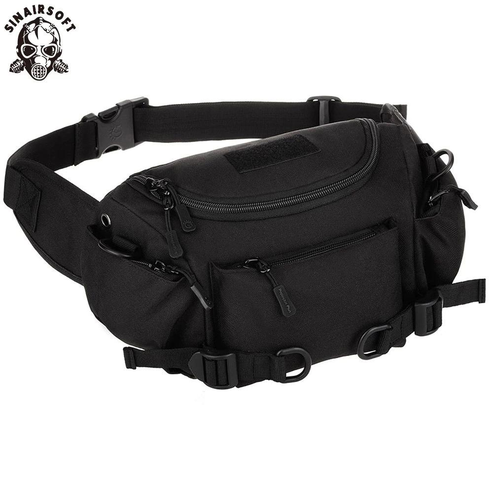 36bf5de69975 Tactical Military Waist Bag Climbing Trekking Hiking Riding Cycling Camping  Satchel Waist Bag Camouflage Dual Use Pouch Day Messenger Bags Small Bags  Best ...