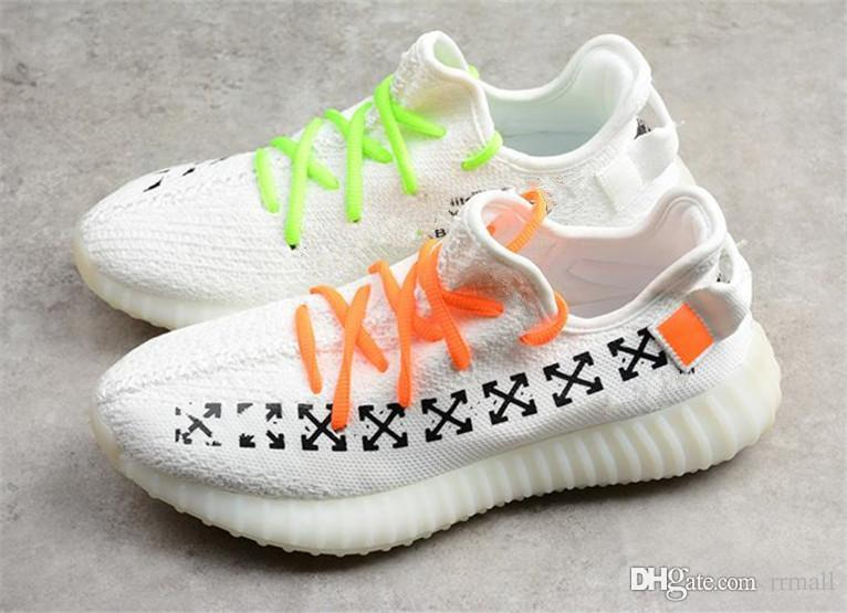 c76d41f55 2019 2018 SPLY 350 V2 OF Grey Sesame Static Butter Butter Zebra Beluga 2.0  Bred 350 V2S Kanye West Running Shoes Sneakers Size 36 46 From Rrmall