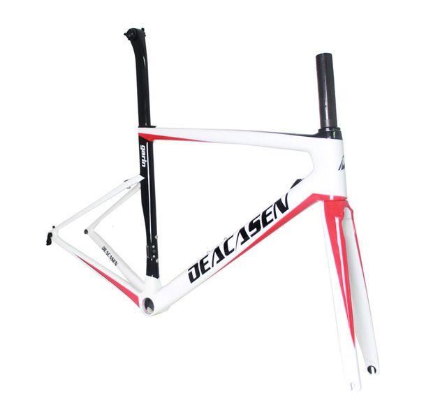 Mens Road Bike Carbon Road Frame Super Light Raw Frame Light Carbon ...