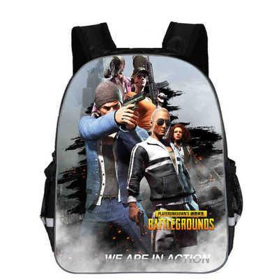 3d School Bags Pubg Playerunknown S Battlegrounds Cosplay Props Lv3