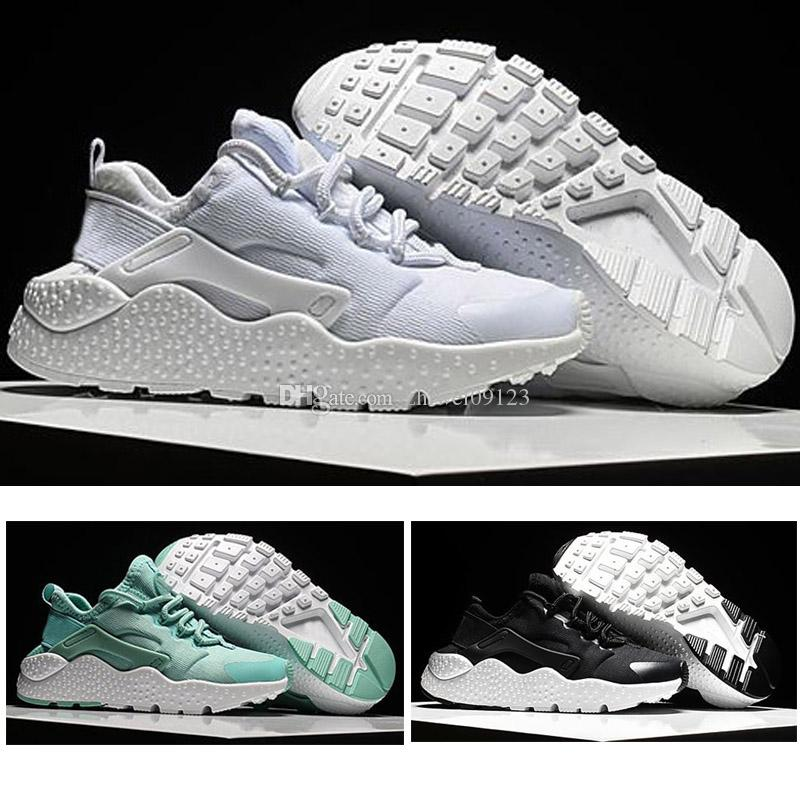 687be9ae63c6 2018 Air Huarache Ultra Running Shoes Big Kids Boys And Girls Black White  Air Huaraches Huraches Sports Sneakers Athletic Trainers 3500 Kids Athletic  Shoes ...