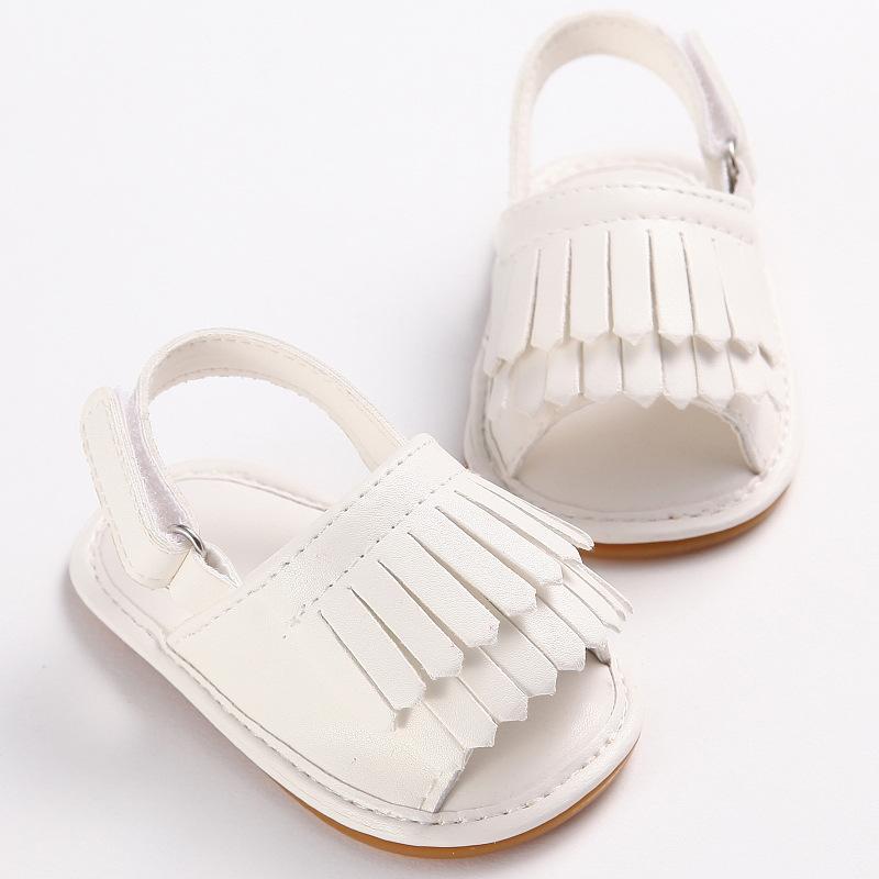 a3312401550c1 Acheter Cuir Souple PU Garçons Filles Chaussures Plage Sandales Bébé Fille  Été Toddler Chaussures Sandales Antidérapantes Bébé Mocassins Bebes De   4.06 Du ...