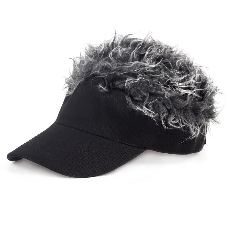 5c0bce0d 2019 Golf Cap Baseball Cap Outdoor Sports Fake Hair Men Fake Flair Hair Sun Visor  Hat From Mangosteeng, $34.22 | DHgate.Com
