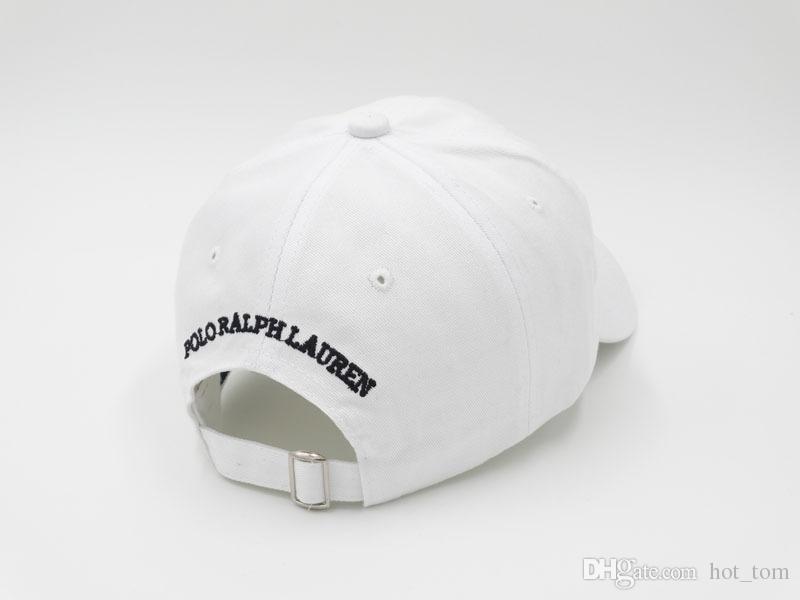Cheap Outdoor Leisure Cartoon Bear The New Polo Black Baseball Cap Hockey Gorra Retro Fashion Hat