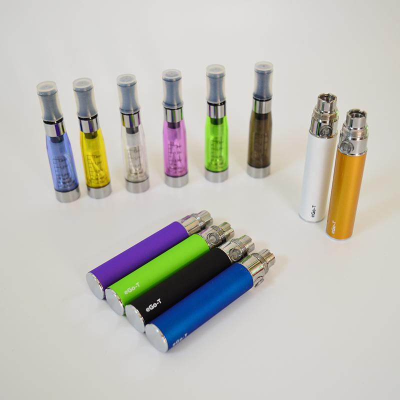 Electronic Cigarette eGo-T CE4 Blister Single Kit With CE4 Clearomizer eGo-T Battery vaporizer pen cartridges Father day gifts