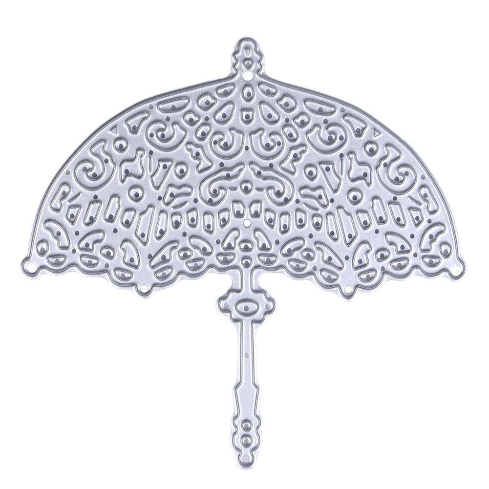 Umbrella Metal Cutting Dies for Scrapbooking Die Cuts DIY Party Wedding Decor Paper Card Craft Dies Embossing Folder