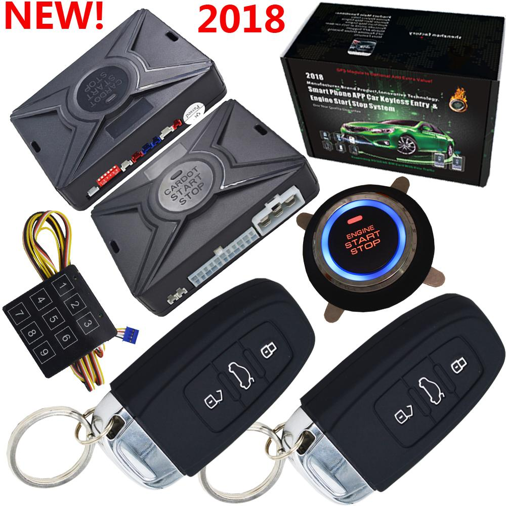 2019 Top Smart Security Car Alarm Passive Keyless Entry Auto Central