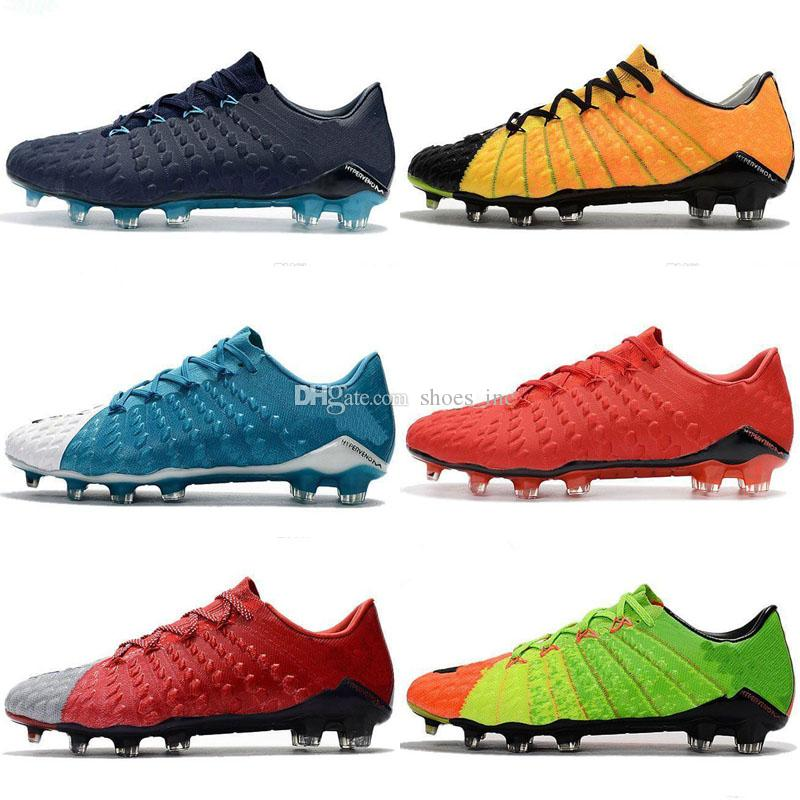 58919e89f277 2019 2018 Hypervenom Phantom 3 III FG Original Soccer Cleats Low Top Neymar  Jr Boots Cheap Soccer Shoes For Men Authentic Football Boots Mens New From  ...