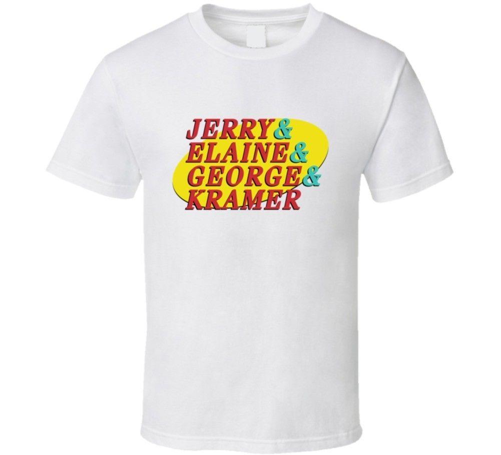 Cool Funny Seinfeld & Helvetica List Parody T-Shirt colour jurney Print t  shirt
