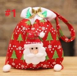 Christmas Decorations Snowflake Gift Bag Candy Apple Bags Festive ...