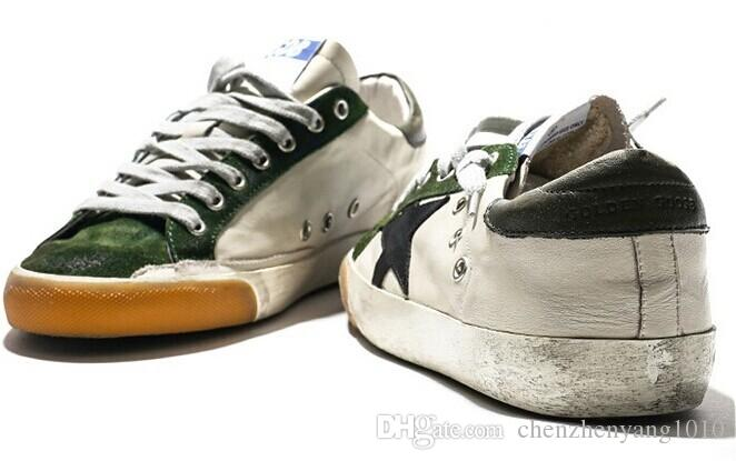 Compre Clásico Ggdd Gooses Zapatillas De Deporte Goldens Scarpe Donna Uomo Super  Star Arriba En Lona De Algodón Homme Femme Goose Zapatos Hechos A Mano A ... c2487c7b4a979