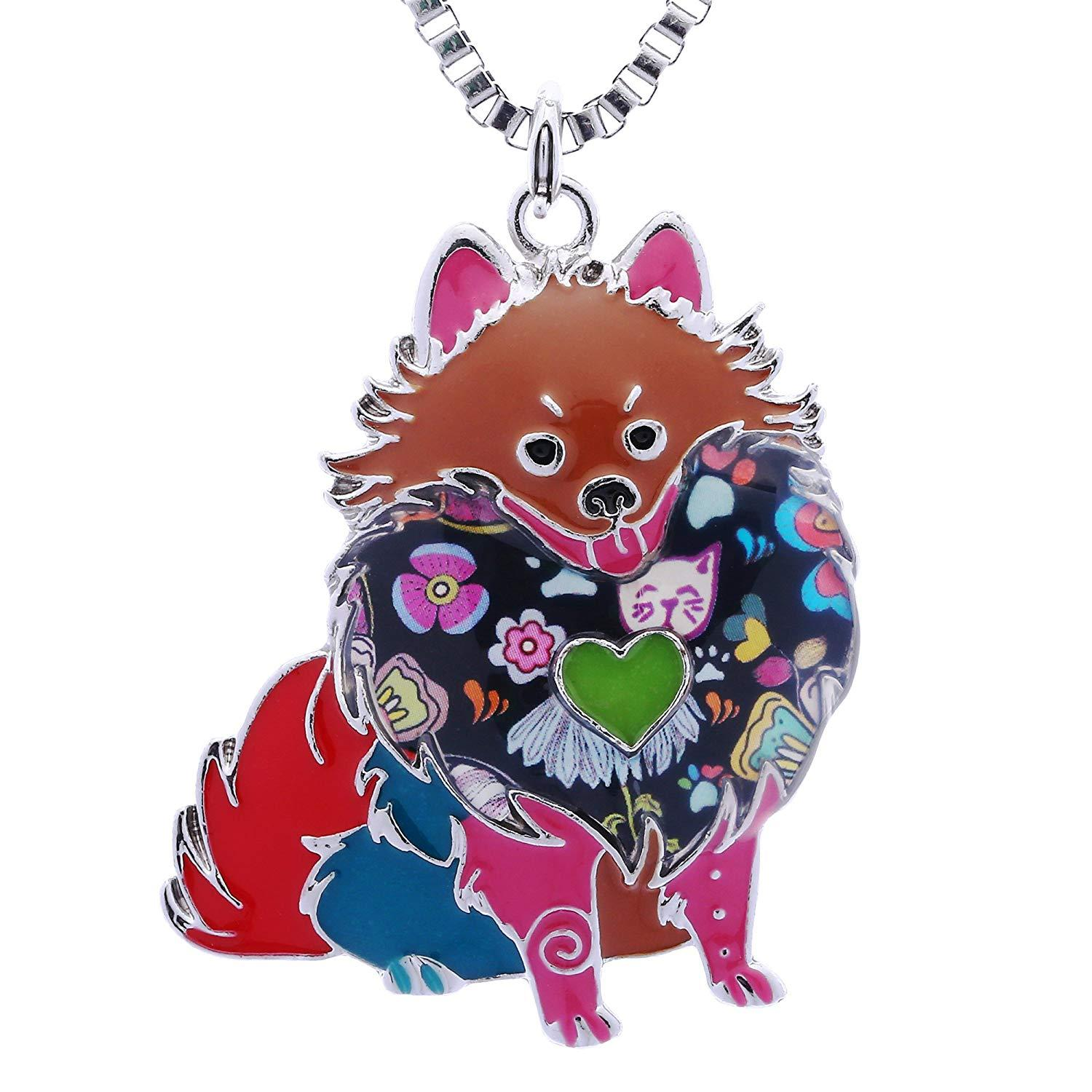 Wholesale Pomeranian Gifts For Dog Lovers Cute Pets Women Statement