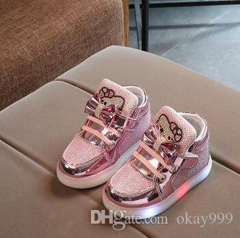 2018 New Hellokltty Shoes Girls Sneakers Infant Newborn Baby Girl