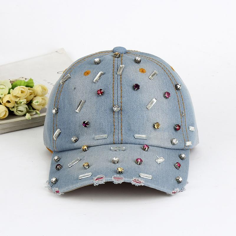 01806 YICHEN102 199 Denim Fabric Leisure Cap Men Women Baseball Hat  Wholesale Caps Hats Fitted Cap From Heathere c6d670b229c3