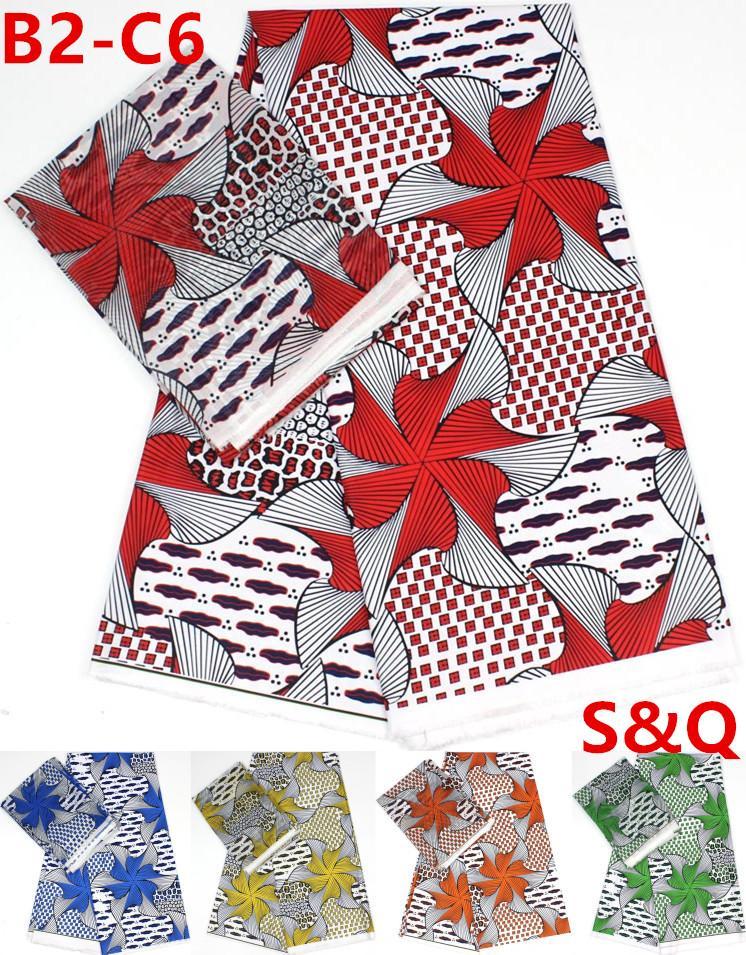 2019 Popular African Lace Fabric 2+4yard Silk Chiffon Fabric African Wax Prints  Fabric Nigerian Lace Fabrics For Wedding Dress B2 C6 From Luzhenbao521, ...