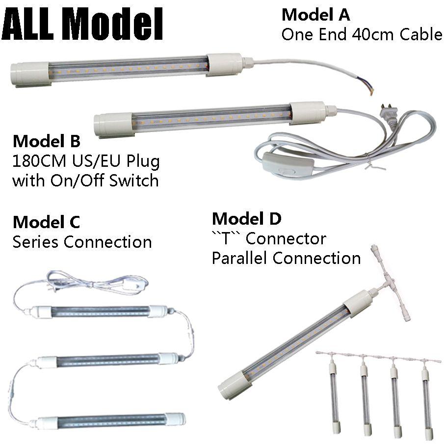 2ft 3ft 4ft 5ft 9W 14W 18W 22W T8 wasserdichtes IP65 führte hohe helle Wiederverwendbare Leuchtröhre-Lampe geführte Leuchtstoffbirnen