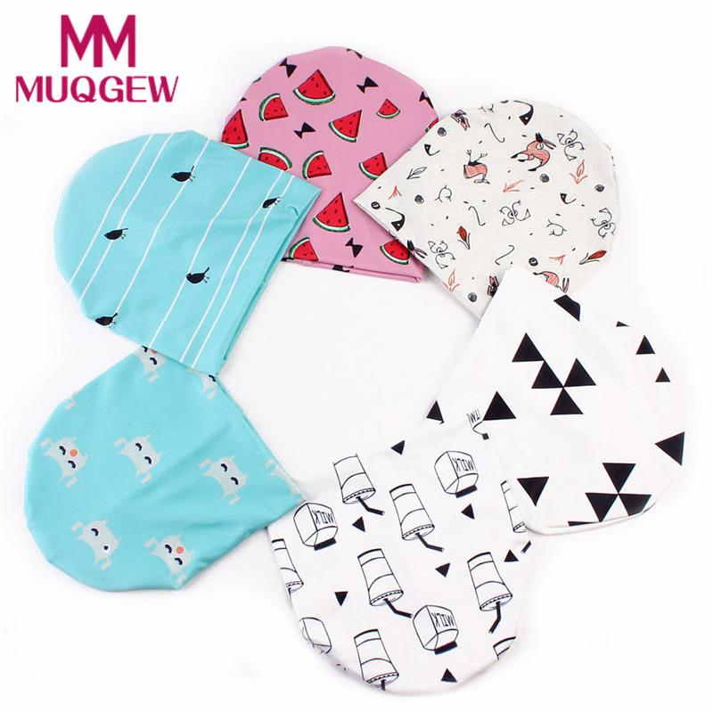 50708fd0e7ec1 2019 MUQGEW Spring Beanies Sun Hat Baby Hat Cotton Newborn Baby Boys Caps  Cute Watermelon Printed Toddler Kids Hats For Girls Cap From Babymom