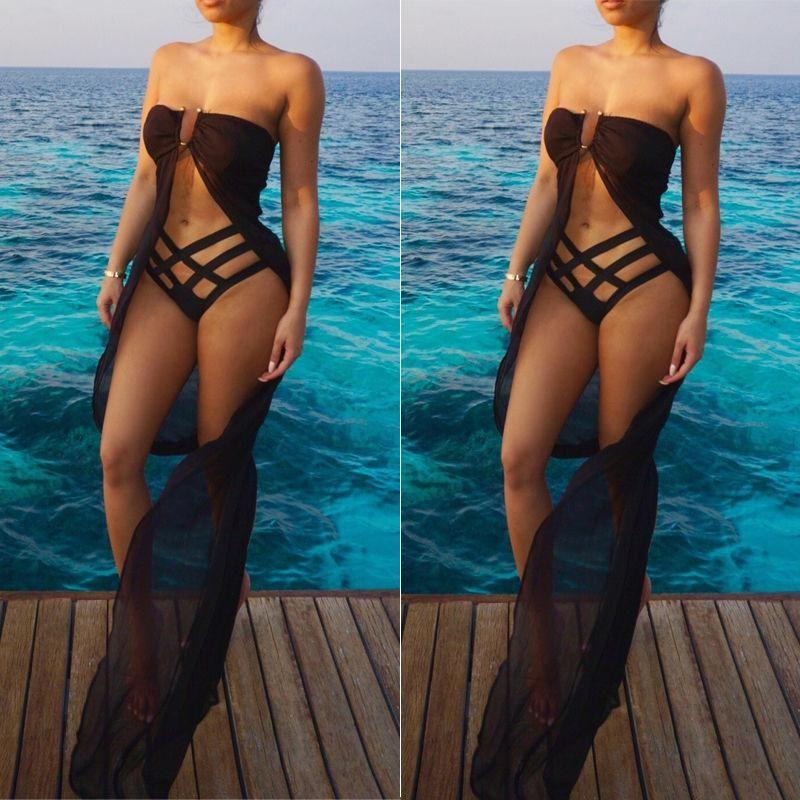Compre Abrigo De Playa Bikini Traje De Baño Abrigo Wrap Vestido De Traje  Pareo Sarong A  6.42 Del Sexystores520  447c997fc080