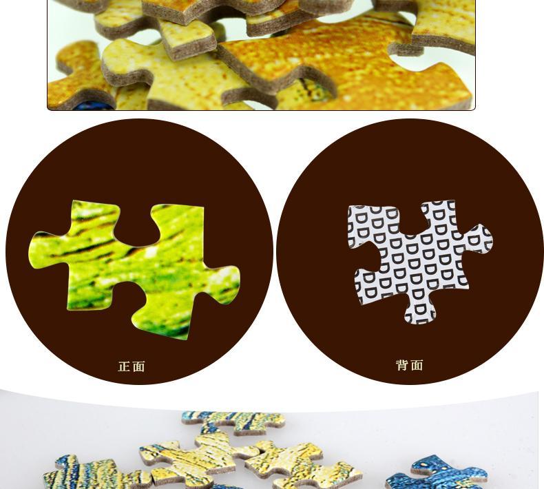 Vendita calda puzzle 1000 pezzi puzzle adulti e bambini giocattolo educativo immagine uomo fuori dallo spazio
