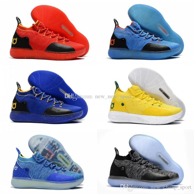 82b9cf411b9b Cheap KD 11 EP Elite Basketball Shoes KD 11s Men Multicolor Peach Jam Mens  Doernbecher Trainers Kevin Durant 10 EYBL All Star BHM Sneakers Sneakers  Online ...