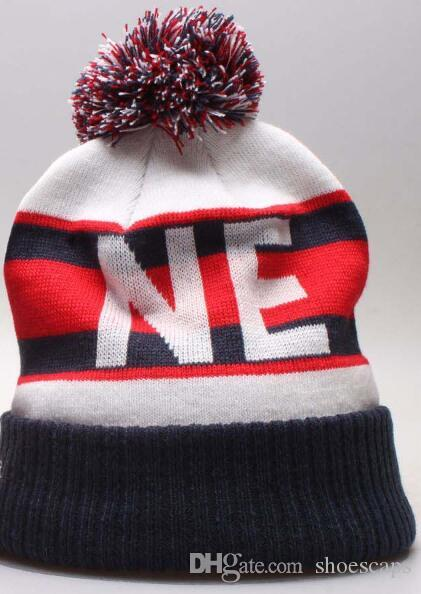 2019 New Fashion NE Team Winter Hat Patriots Beanie For Men Women Knitted  Beanie Wool Hat Man Knit Bonnet Beanies Gorro Warm Cap Snapback Caps Baby  Hats ... 971b34d2bd