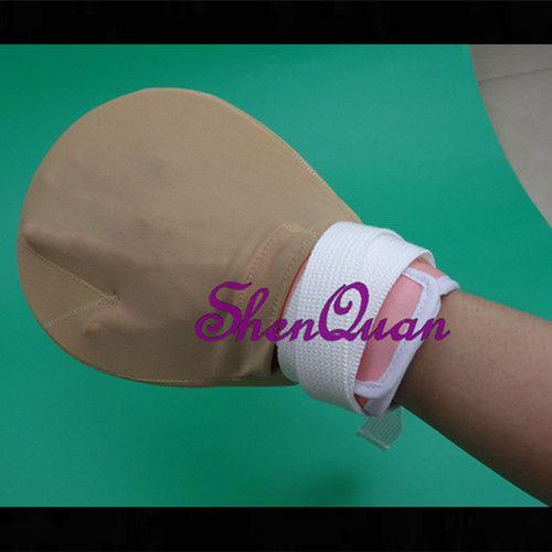 high quality promotion new medical restricted gloves/patient hand straps  -elderly hand restraint band restraint gloves