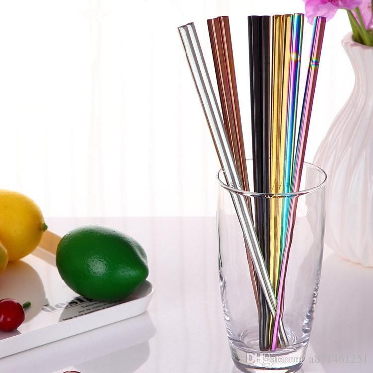 Китайский японский корейский палочки для еды Радуга длина 23 см палочки для еды топ 304 зеркало полированной нержавеющей стали посуда