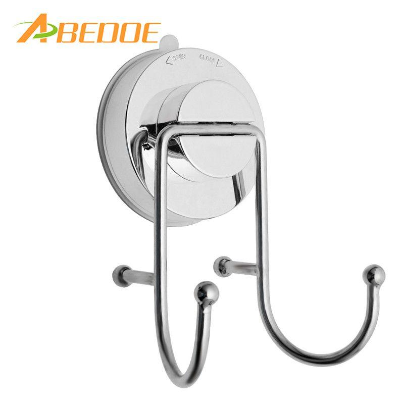 . ABEDOE Bathroom Towel Hook Suction Cup Hooks Vacuum Holder Wall Mounted  Organizer Hanger for Bath Towel Coat for Kitchen