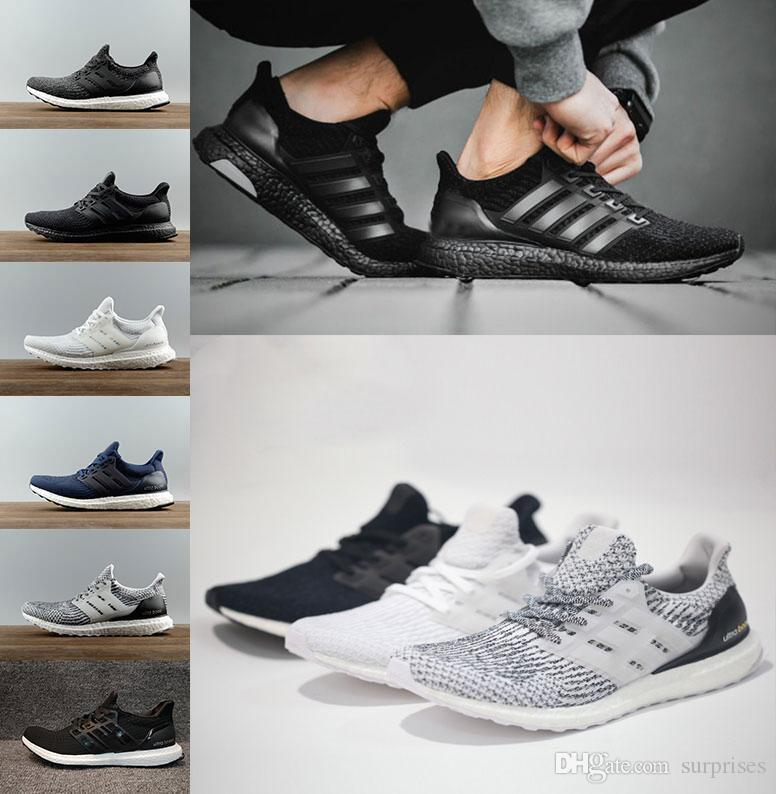 High Quality Ultraboost casual Shoes 4.0 triple white black grey Men Women UB 3.0 Blue Oreo running Shoes Athletic Sports Sneakers36-45 in China cheap price cheap prices best sale online buy cheap top quality free shipping Cheapest WEGIZMJ