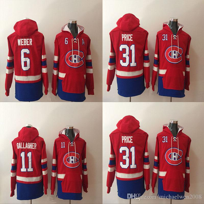 e176094f7a7 ... sweden 2019 2017 montreal canadiens hoodie 6 shea weber 11 brendan  gallagher 31 carey price hoodie