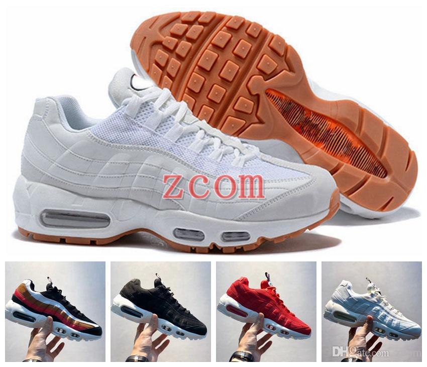 online store 50bd6 63d94 Acheter 2018 Chaussures Chaussures De Course 95 95s TT Femmes Baskets Hommes  Pour Le Japon Bluw Blanc Rouge Noir Marque OG Designers Sports Baskets ...