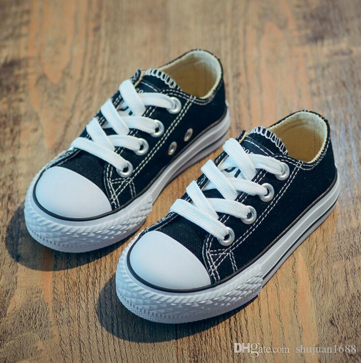 7e2e5afa09b0 2018 Canvas Children Shoes Sport Breathable Boys Sneakers Brand Kids Shoes  For Girls Jeans Denim Casual Child Flat Canvas Shoes Online Kids Shoes Shoes  For ...
