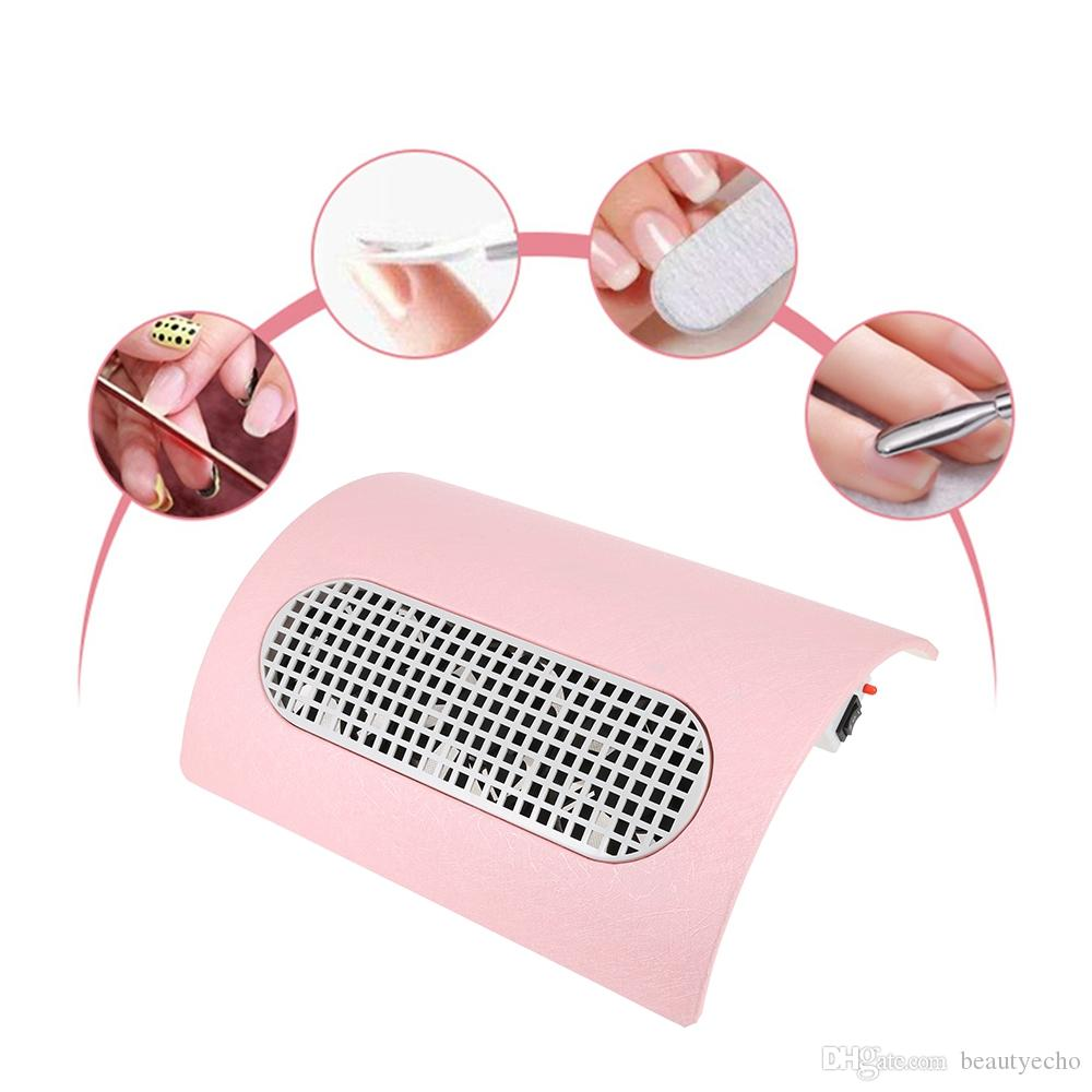 Nail Dust Collector 100v 240v Powerful Nails Dust Collector Manicure ...