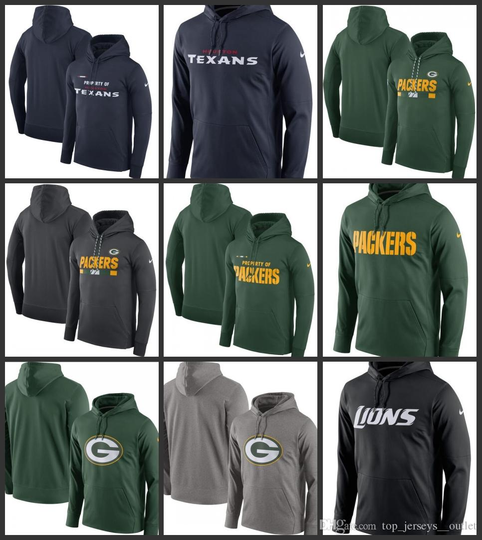 8fa483166 Houston Texans Green Bay Packers Detroit Lions Denver Broncos Men Property Of  Performance Pullover Hoodie Online with  35.93 Piece on  Wholesale nfl jersey s ...