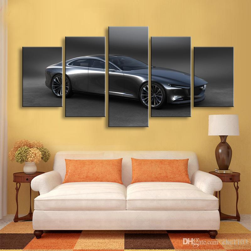 Painting & calligraphy World famous car canvas poster art painting living room restaurant Bedroom Decorative paintings C5-057