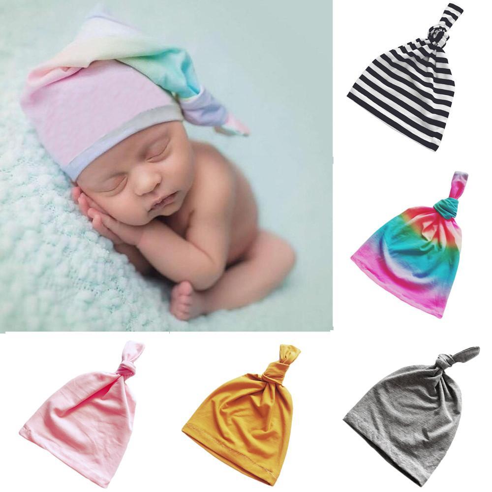 Acquista MUQGEW Neonato Toddler Bambini Cappello In Cotone Baby Boy Girl  Turbante Beanie Hat Copricapo Tie Copricapo Mop Tail Cap A  33.91 Dal Humom  ... bc79b0fd0da4