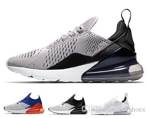 info for f7c58 59cf5 Acheter 2018 New 270 Running Chaussures Casual 270s Casual Sneakers Noir  Blanc Bleu Shock Off Femmes Hommes De  76.15 Du Cr7shoes   DHgate.Com