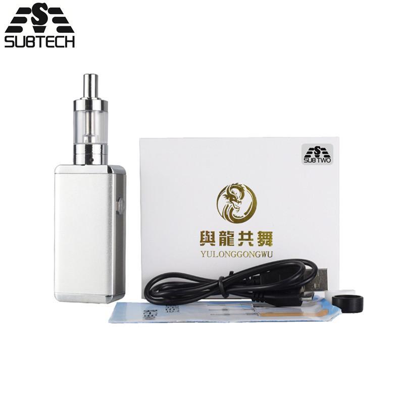 Original 50w electronic cigarette 1080mah battery box mod kit 50w kit  E-Cigarettes 0 5 ohm coils hookah vape pen