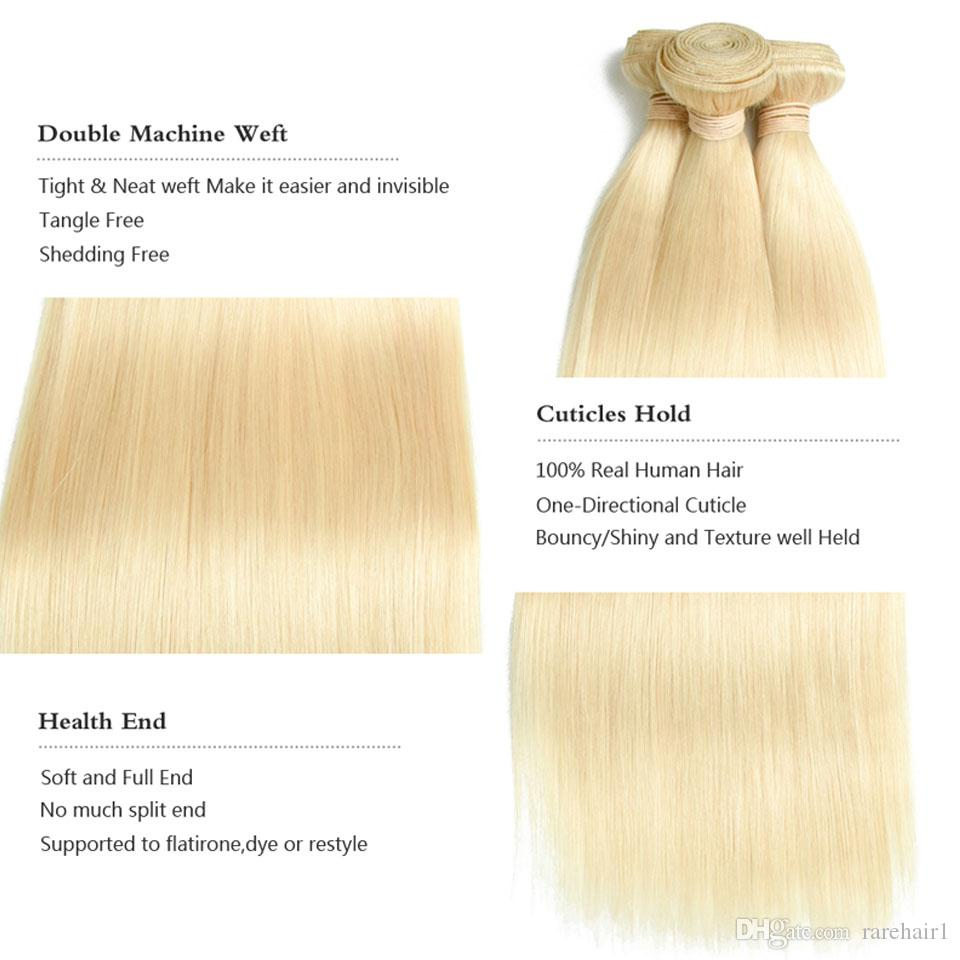 Peruvian Human Hair Bundles #100% Human Hair Weaving 10''-26''Inches Long Straight Remy Human Hair Extensions