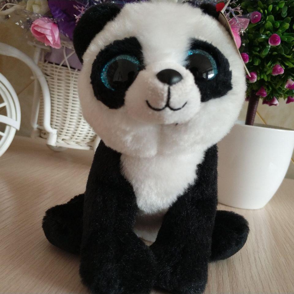 Ming Panda TY BEANIE BOOS COLLECTION 15CM 6 BIG EYE Plush Toys Stuffed  Animals KIDS TOYS Children Toy Soft Canada 2019 From Callshe 3e9f3ae3085
