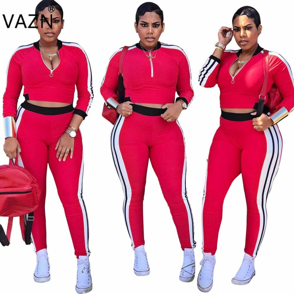 ef028ab4b8f42 VAZN Special Design 2018 Popular Casual Jumpsuit Full Sleeve Long Jumpsuit  Overalls For Women H855