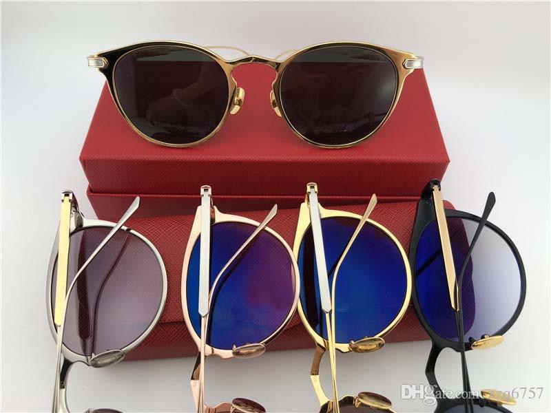 697d59ec3e9 New Fashion Designer Sunglasses Retro Frame Popular Vintage Uv400 ...