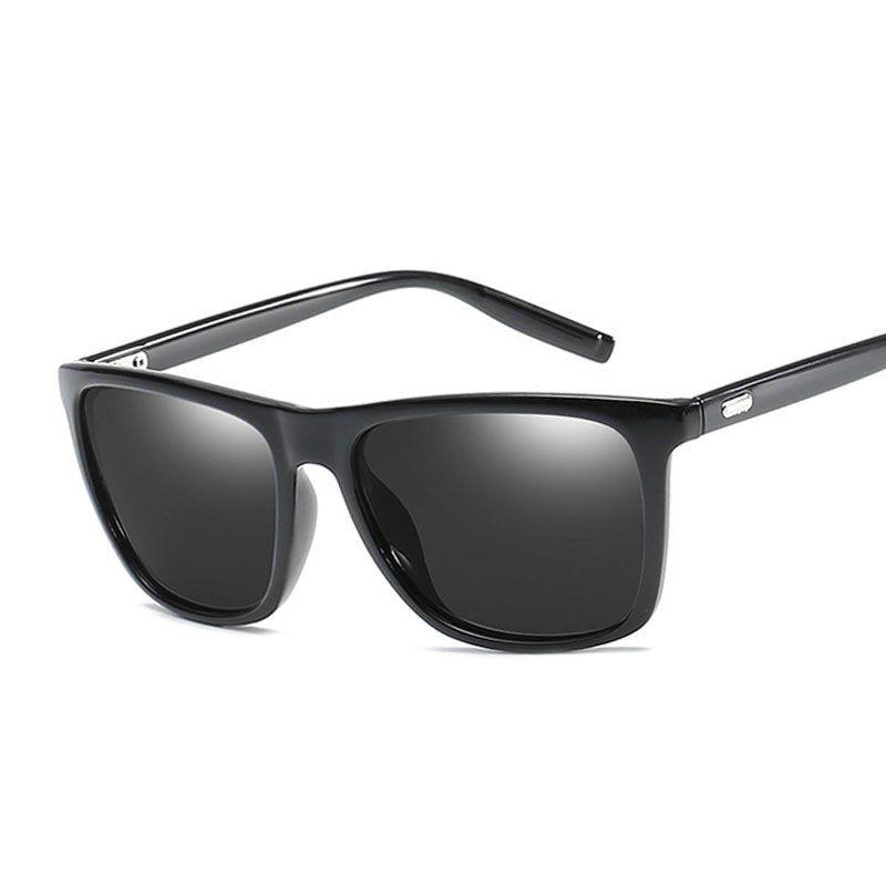 bf0604588b8d Polaroid Sunglasses Unisex Square Vintage Sun Glasses Famous Brand  Sunglases Polarized Sunglasses Retro Feminino For Women Men Sunglasses At  Night ...