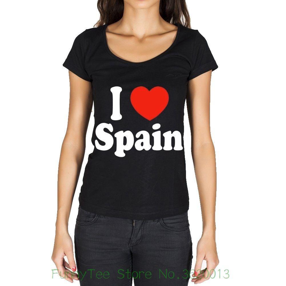 I Donna Acquista Maglietta Da Love Nera Spagna 6gbfIYv7y