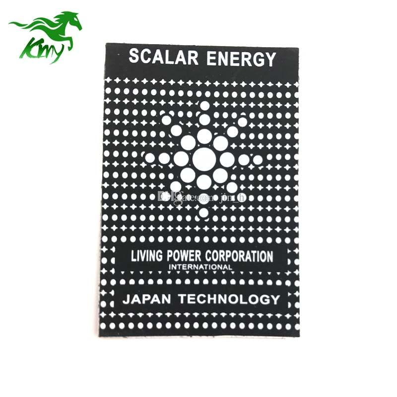 High performance mobile phone Anti Radiation Sticker Quantum Shield Scalar  Energy Saver Chip free shipping