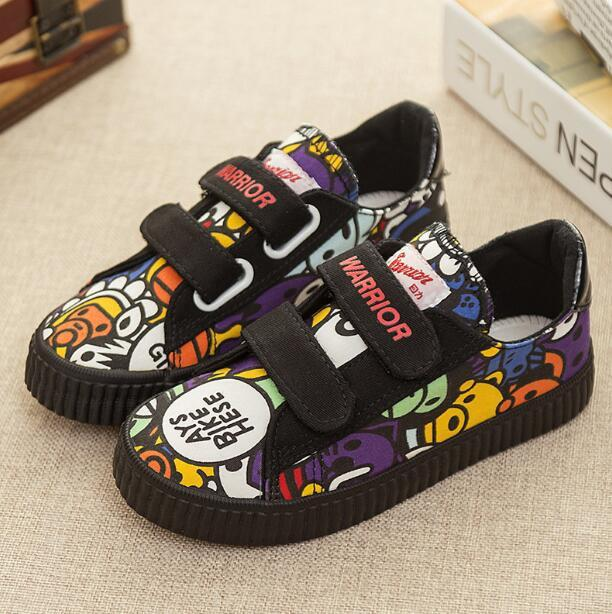 6344b58aadd Hot Sale Girl Canvas Casual Boy Shoes Purple Kids Boys Loafer Sports And  Girls Tide Children Baby Pedal Shoes