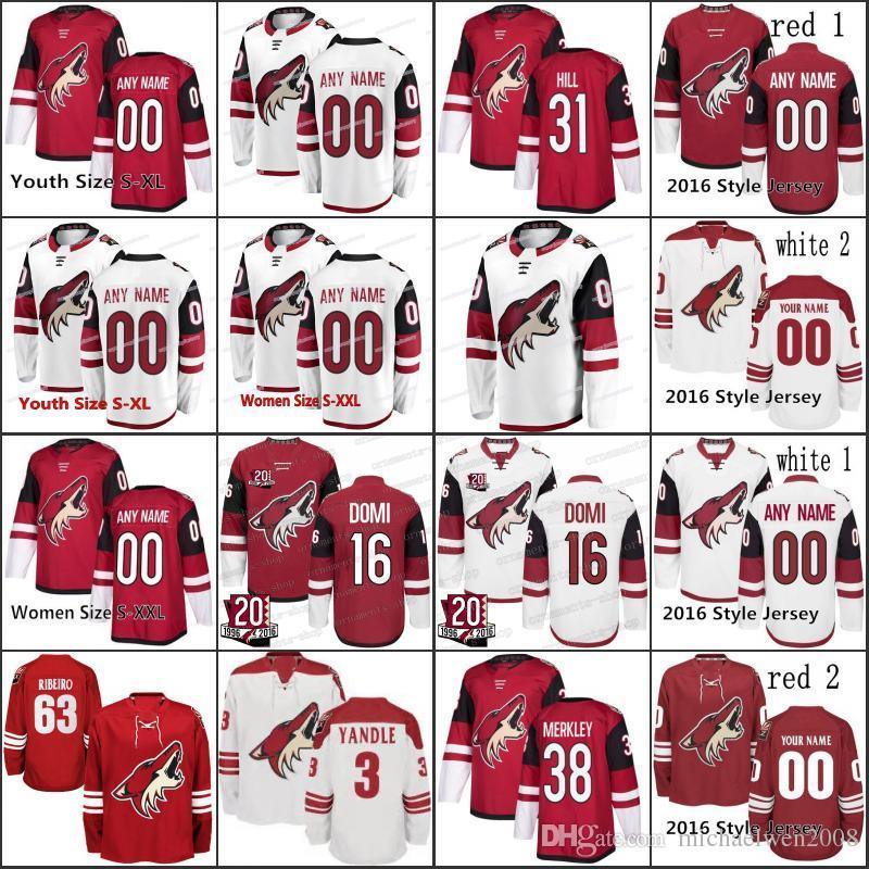 buy popular c2f02 c2366 New Season 91 Dave Bolland 25 Nick Cousins 12 Laurent Dauphin Arizona  Coyotes 18 Christian Dvorak 17 Alex Galchenyuk Hockey Jerseys