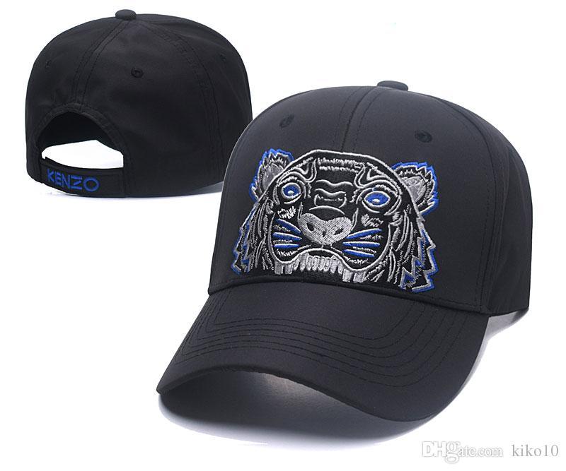 Compre 2019 Gorras De Béisbol Para Hombre Nueva Marca Tiger Head Sombreros  De Oro Bordado Hueso Hombres Mujeres Casquette Sombrero Para El Sol Gorras  ... 04de08e497e