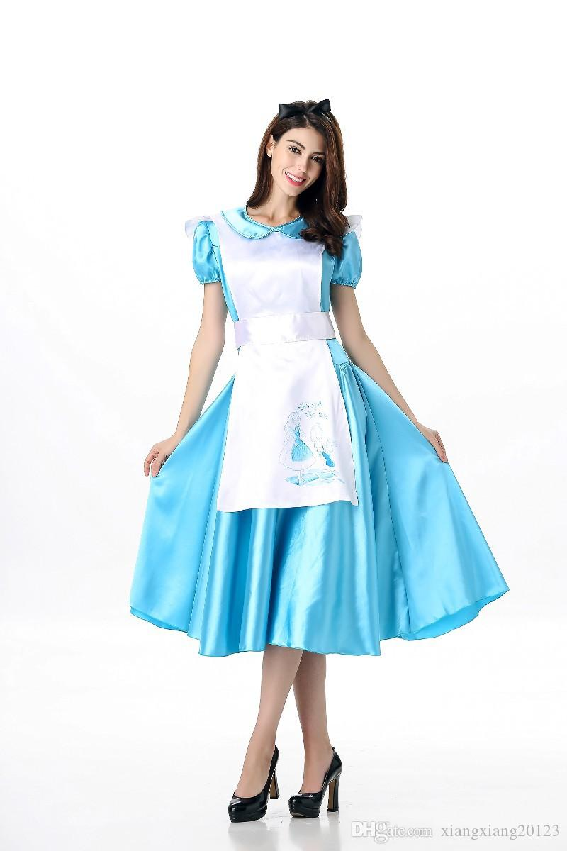 European And American Cosplay Theme,New Alice In Wonderland Costume ...