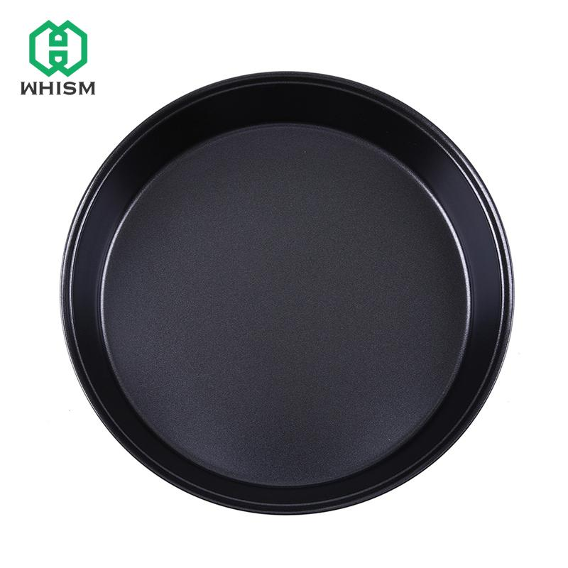 2018 8 Inch Round Bake Pan Non Stick Carbon Steel Baking Tray Cake Chess Mold Loaf Roaster Microwave Pie Bakeware From Shutie